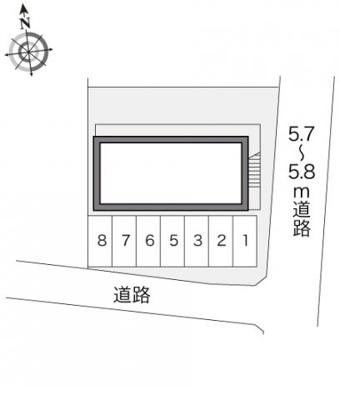 【その他】レオパレスB・P246C館