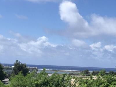 【外観】南城市志堅原 海が見える土地
