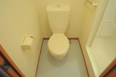 【トイレ】レオパレスペアトゥルース