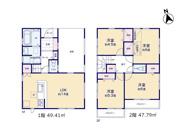 【1号棟】国立市富士見台1丁目 新築戸建 全5棟の画像