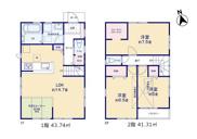 【3号棟】国立市富士見台1丁目 新築戸建 全5棟の画像