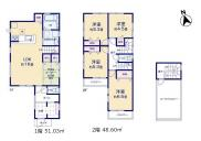 【5号棟】国立市富士見台1丁目 新築戸建 全5棟の画像
