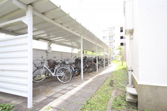 【駐輪場】室見第1住宅26号棟