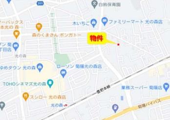■カーナビ:熊本県菊池郡菊陽町津久礼3039-3付近