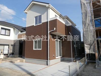 碧南市踏分町新築分譲住宅1号棟写真です。2021年8月撮影