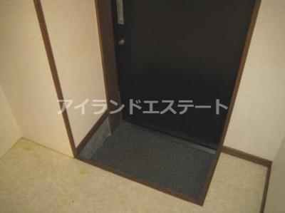 【玄関】パールハイツ