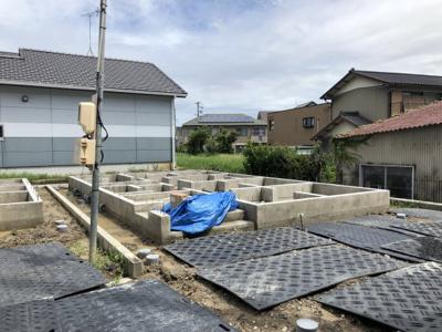 碧南市長田町新築分譲住宅E号棟写真です。2021年8月撮影