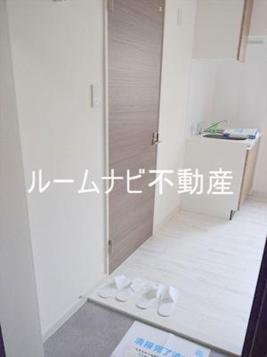 【玄関】COCOCUBE滝野川Ⅱ