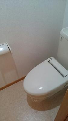 【トイレ】Abitazione領家