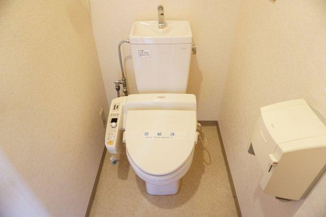 【トイレ】ジニアルコート西新