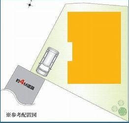 【区画図】板橋区坂下3丁目 新築戸建