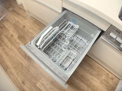 食器洗浄機つきです。