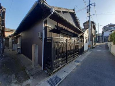 【外観】関西町貸家