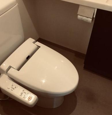 【トイレ】グランスイート千種タワー(分譲賃貸)