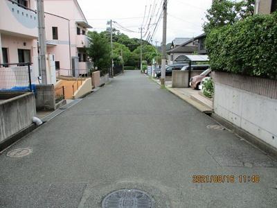 【前面道路含む現地写真】高須東三丁目9番6号