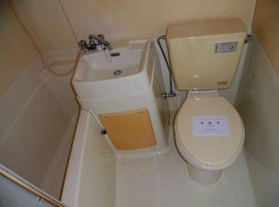 【浴室】ハイツ天神下
