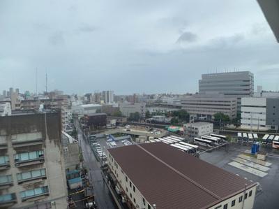 11階からの眺望です。