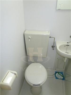 【トイレ】ドミール六番館