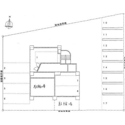 【区画図】フランセジュール裏参道