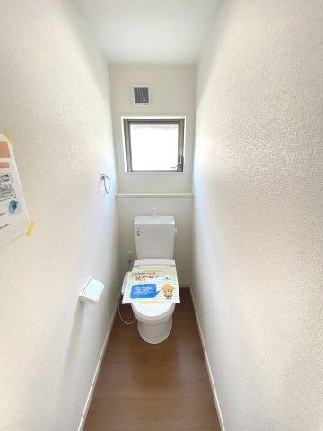 現地写真。1階のトイレです。