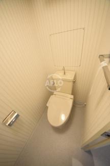 夕陽丘セントポリア トイレ