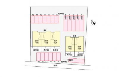 【区画図】チェルシーⅡ