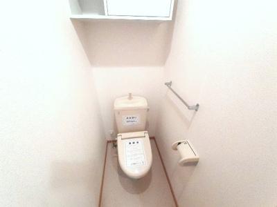 【トイレ】プリムローズ徳力新町A