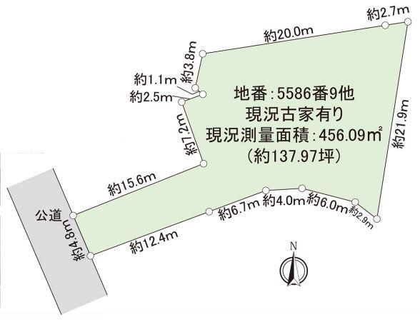 【区画図】藤沢市辻堂元町4丁目 売地