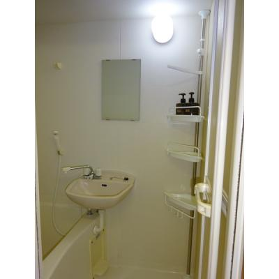 【浴室】アルウィンコート亀川