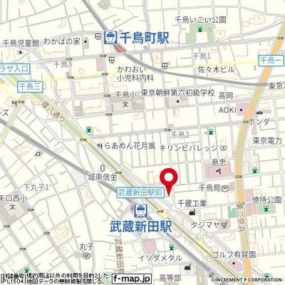 【地図】JM'S CHIDORI