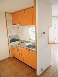 対面キッチンです