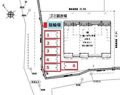 【区画図】リバーストーン6