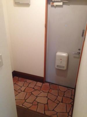 玄関が広いのが特徴です。