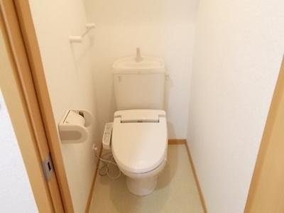 【トイレ】リバーサイド三城