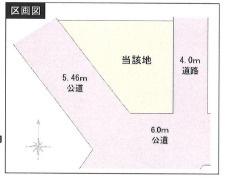 【区画図】ファミール小平