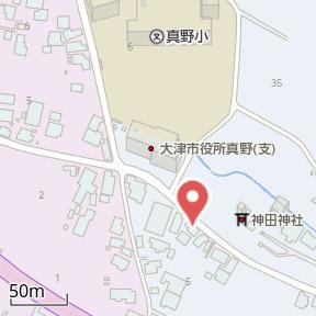 【地図】真野④ 貸家
