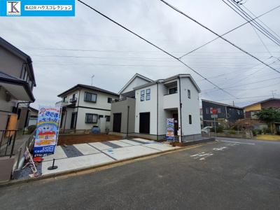【外観】取手市谷中2期 新築戸建