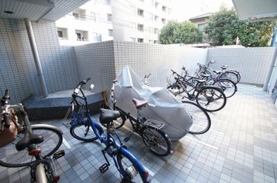 駐輪場あります。