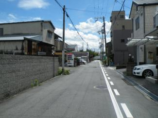 【前面道路含む現地写真】尼崎市大物町 中古戸建