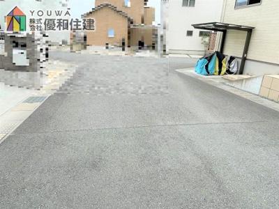 【前面道路含む現地写真】明石市大久保町松陰 中古戸建