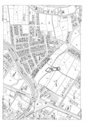 【地図】雄琴5丁目 分譲12区画 5号棟
