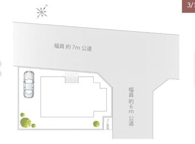 【区画図】清瀬市中清戸 全1棟