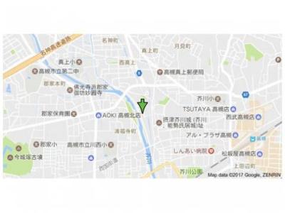 【地図】ヴィラ芥川