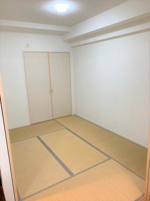 5.0帖の和室です。