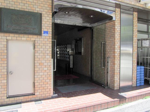 【エントランス】ライオンズマンション早稲田正門通り