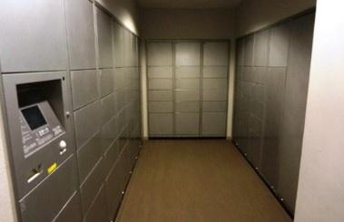 シティタワー品川の宅配ボックスです。