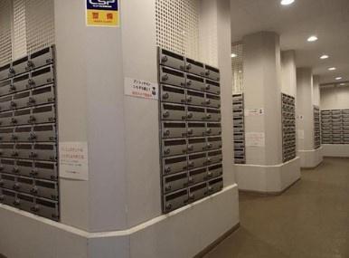 シティタワー品川のメールボックスです。