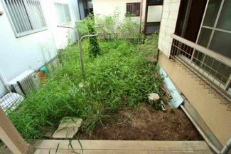 ちょっとしたお庭もございます