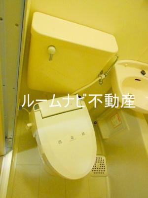 【トイレ】エヴェナール茗荷谷