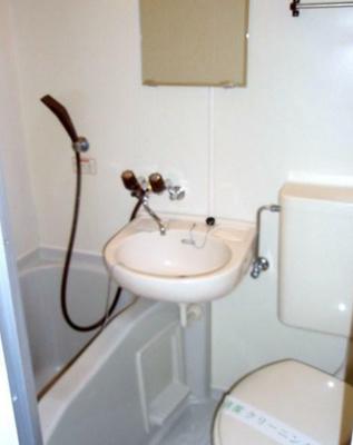 【浴室】コーポかわぺ